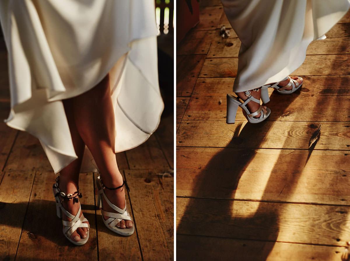 buty ślubne w stylu boho