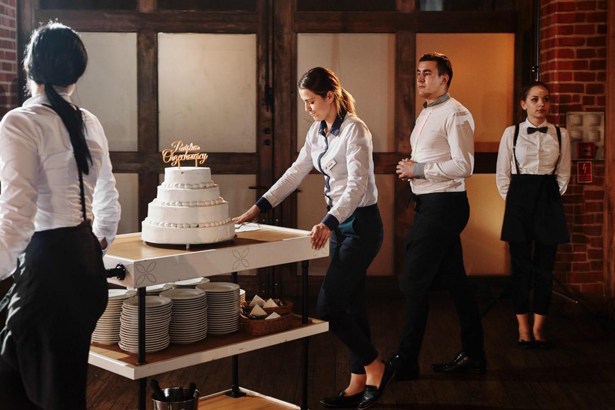 krojenie tortu Zamek Topacz