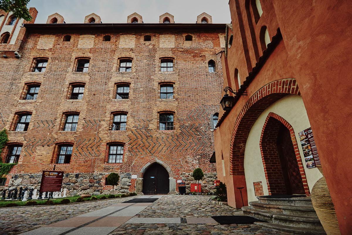 Zamek w gniewie - fasada