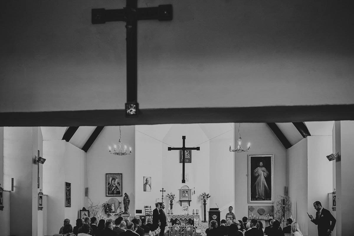 kościoł wisełka - wnętrze kościoła