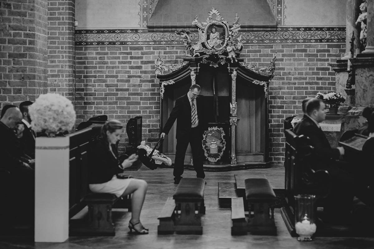 ślub w kościele - reportaż - zamek gniew