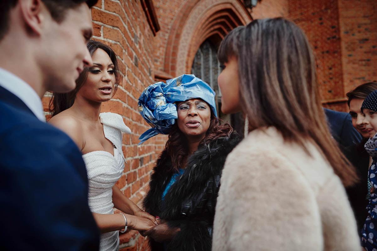 ślub w kościele - życzenia - zamek gniew