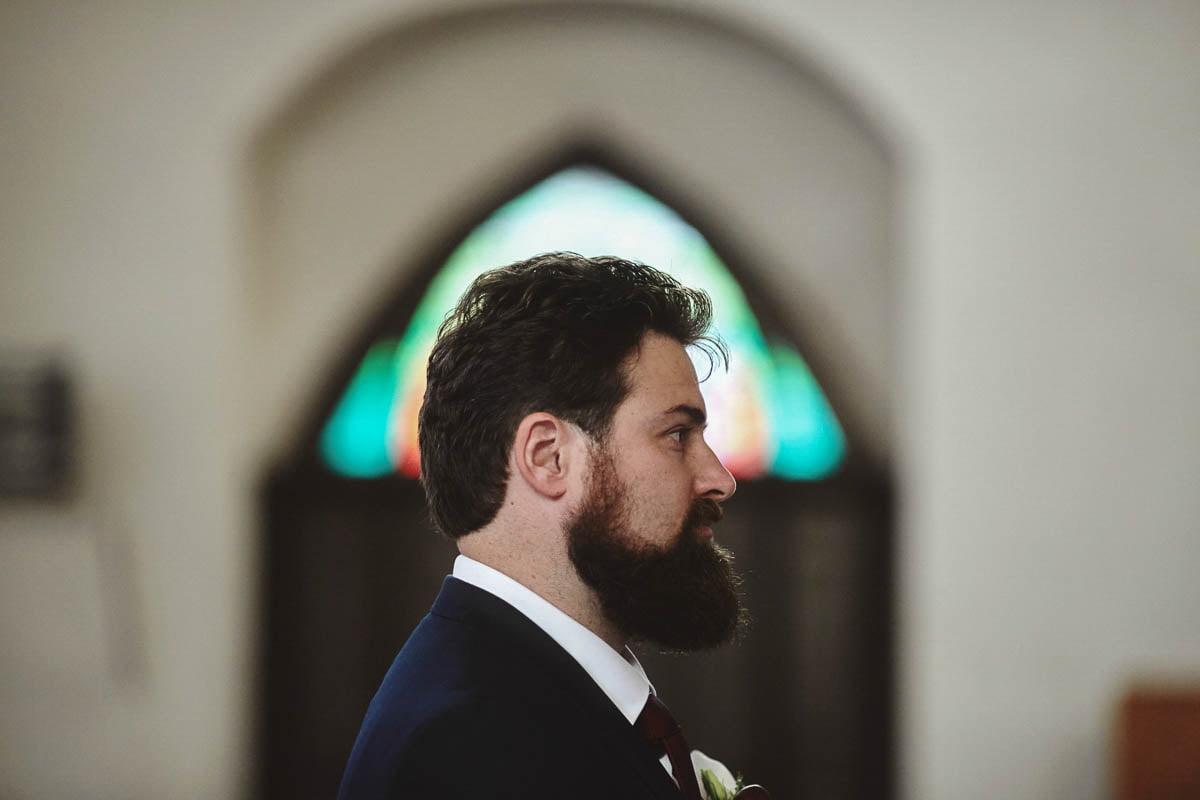 ceremonia ślubna - świadek pana młodego