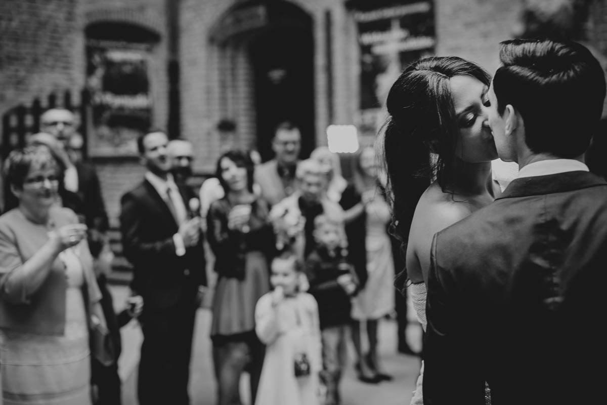 zamek gniew wesele - pocałunek