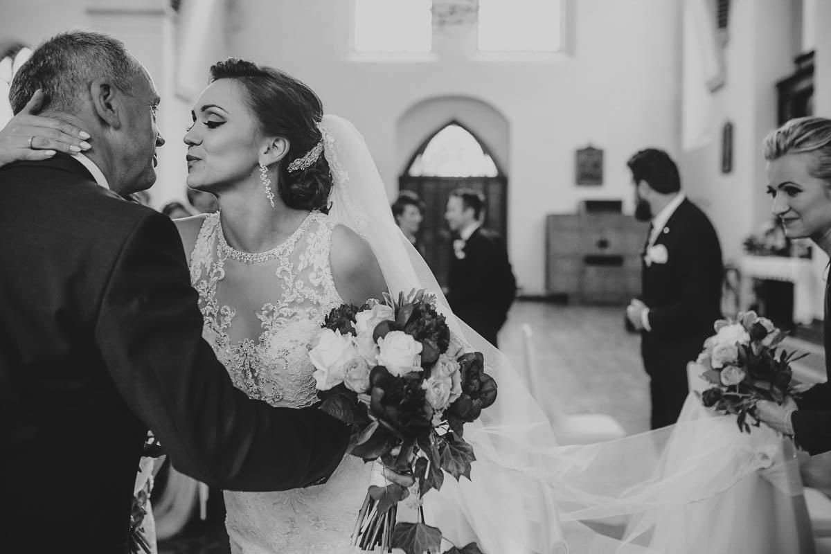 ceremonia ślubna - msza w kościele