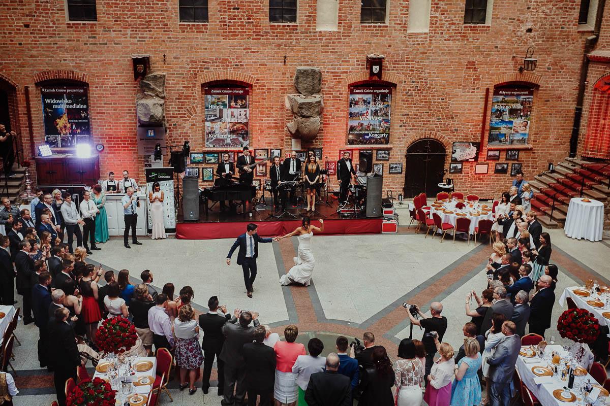 zamek gniew wesele - pierwszy taniec