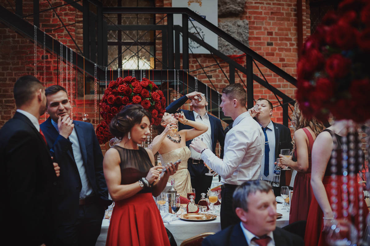 zamek gniew wesele - toast weselny