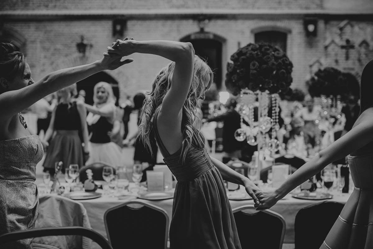 zamek gniew wesele - taniec