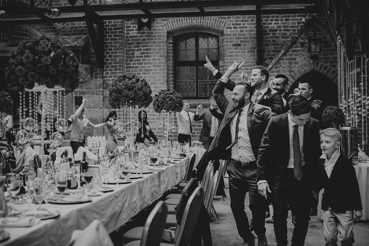 zamek gniew wesele - szalona zabawa