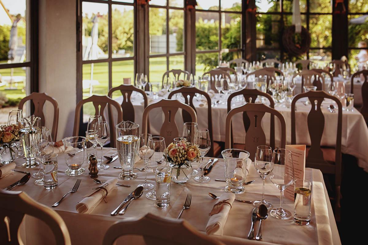villa park wisełka - dekoracje sali weselnej