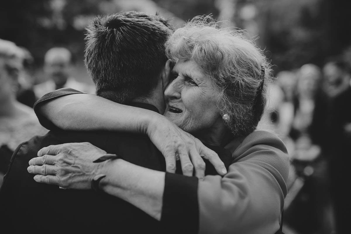 wolwark wirówek wesele - babcia składa życzenia