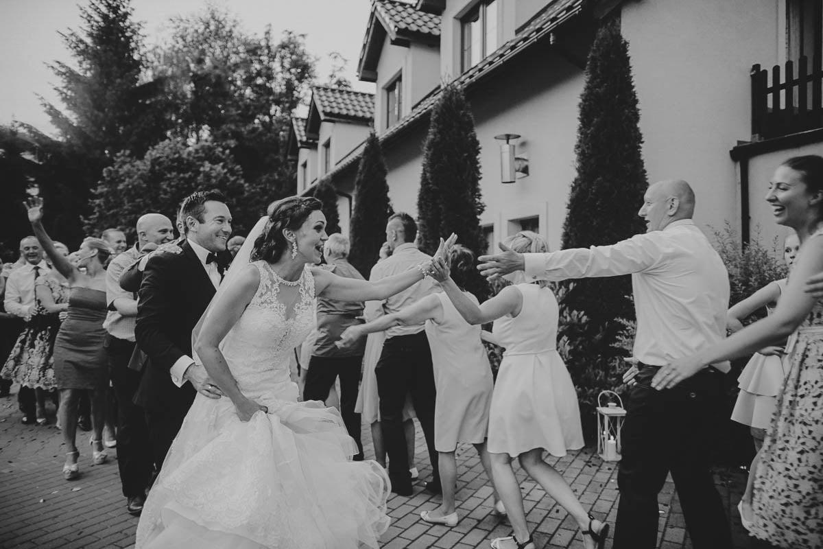 folwark wirówek wesele - przybicie piątki