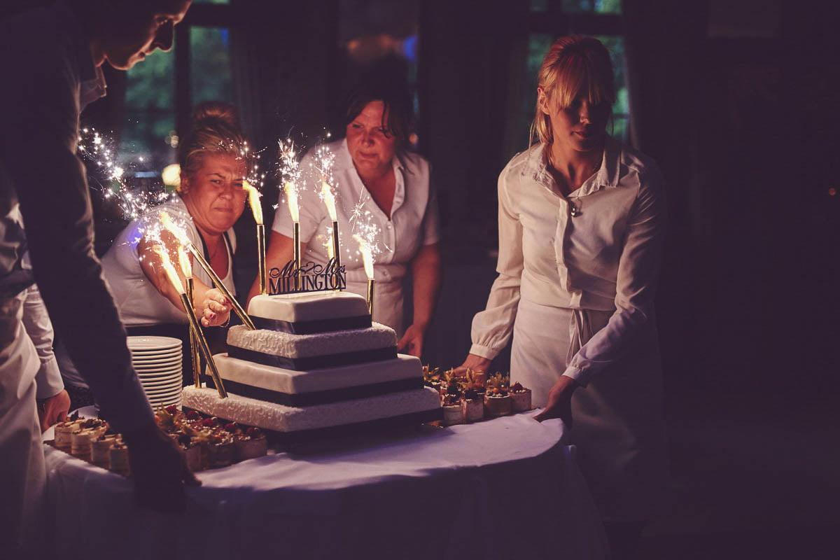 folwark wirówek wesele - tort weselny