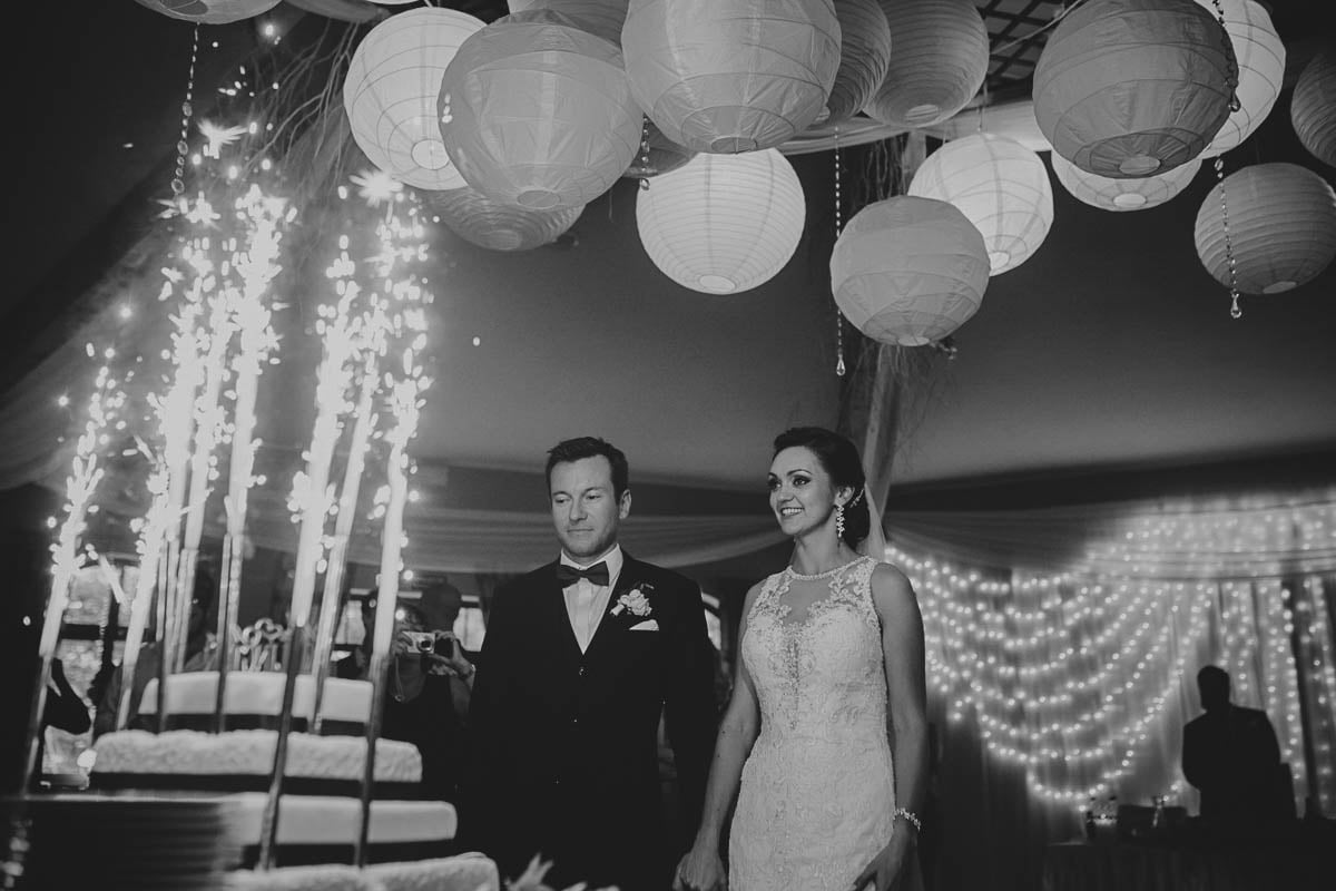 wolwark wirówek wesele - moment krojenia tortu