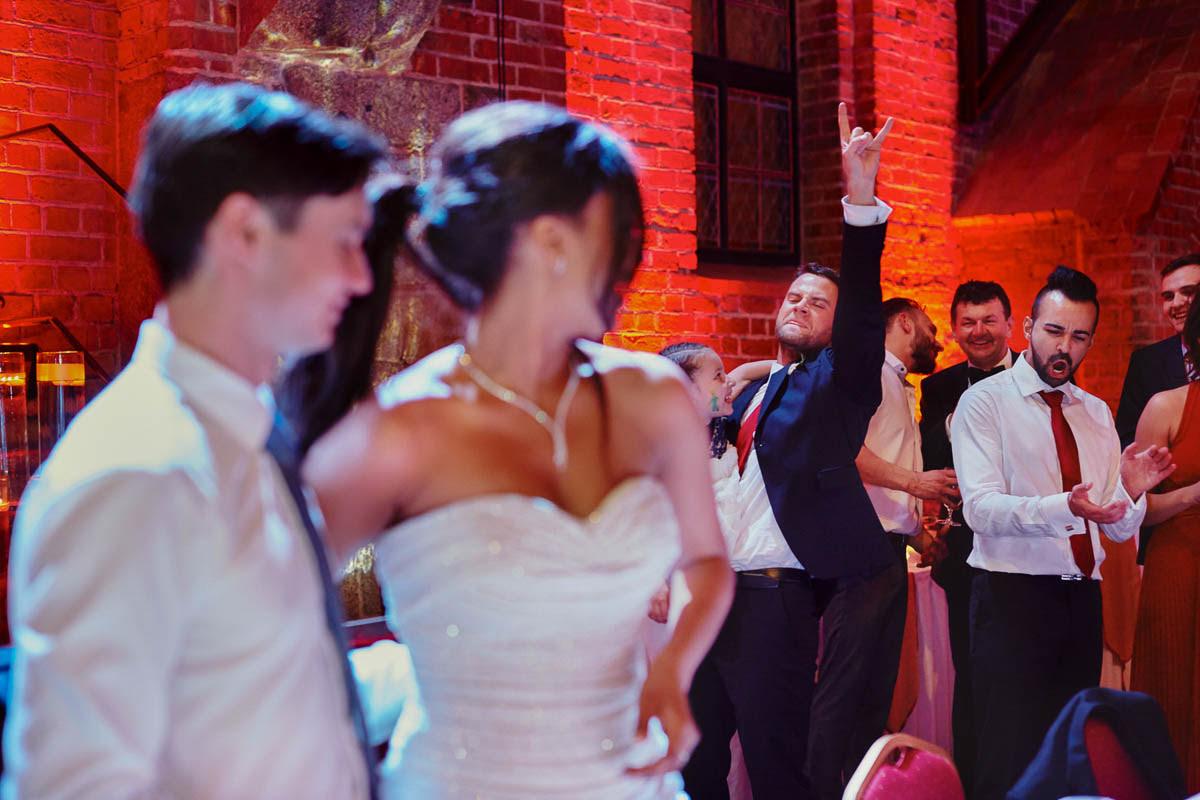 zamek gniew wesele - emocje