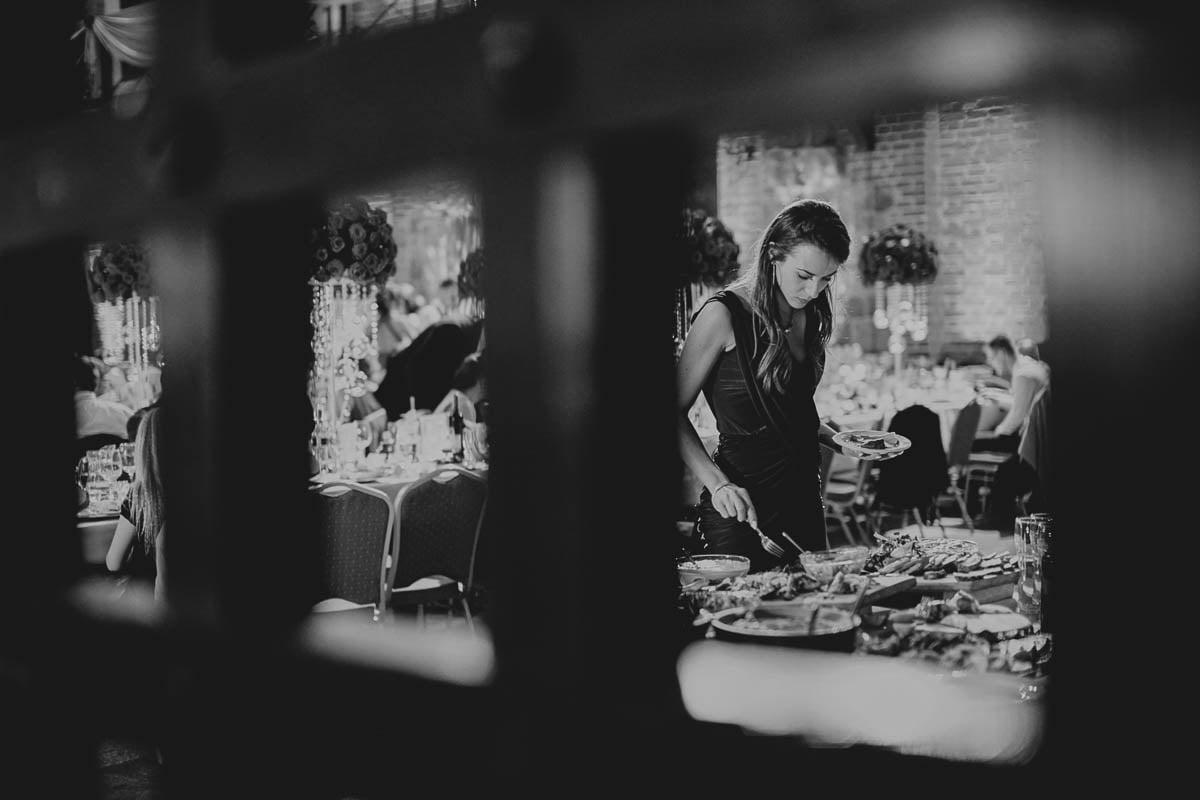 zamek gniew wesele - przy szwedzkim stole