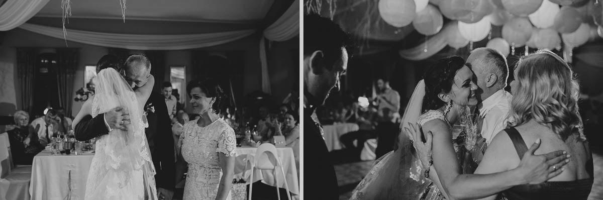 wolwark wirówek wesele - młodzi dziękują rodzicom