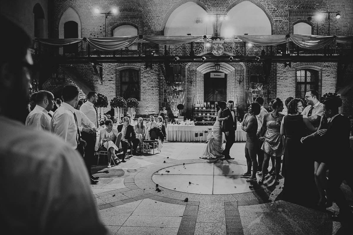 zamek gniew wesele - sala weselna