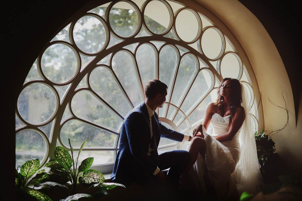 sesja ślubna w pałacu - zamek gniew