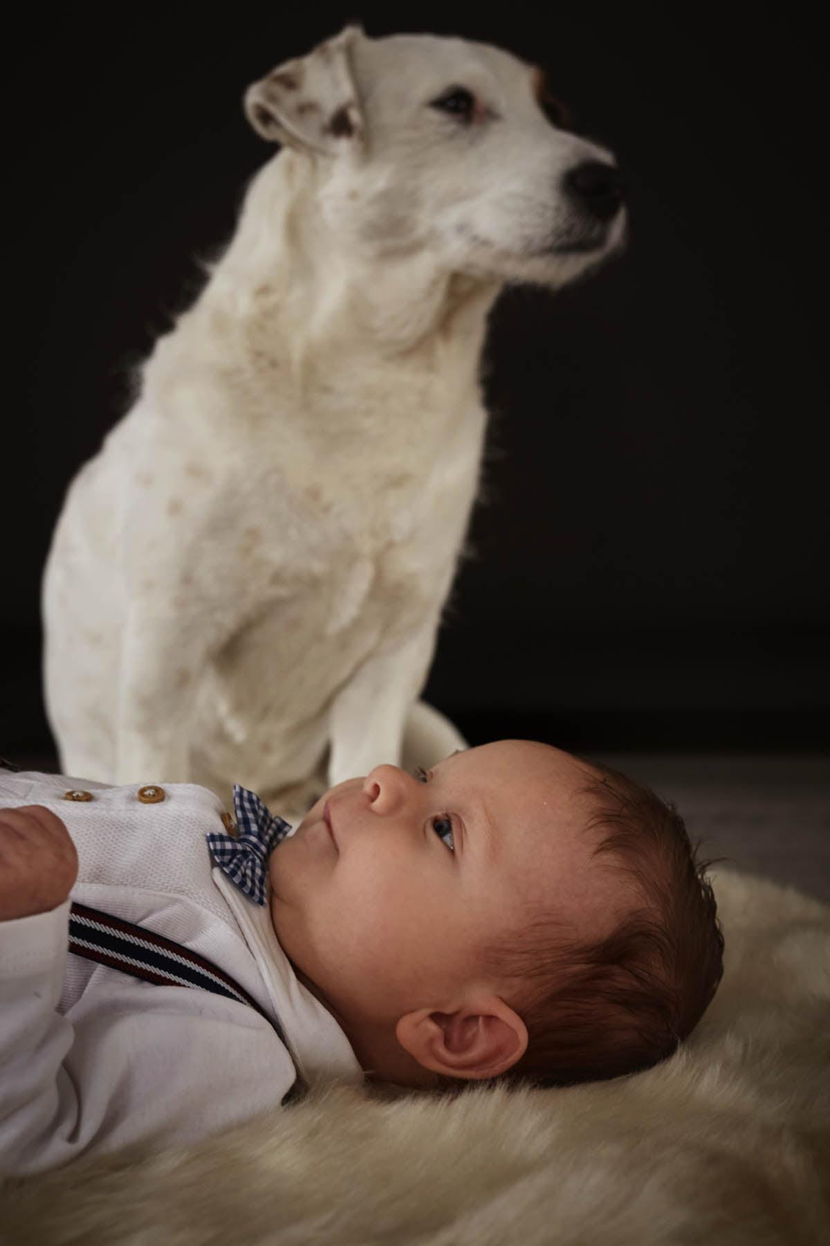 sesja rodzinna Świnoujście - portret z pupilem