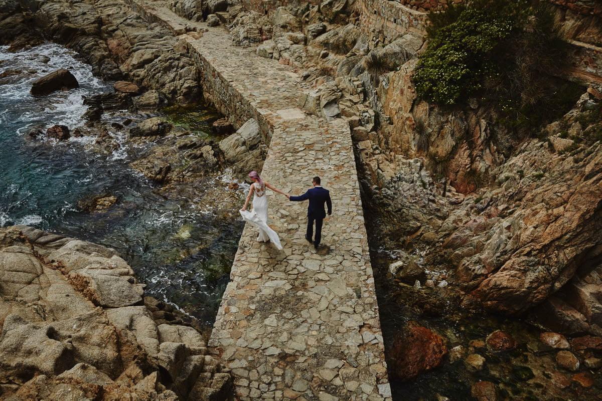 Kasia i Marcin - Katalonia 15