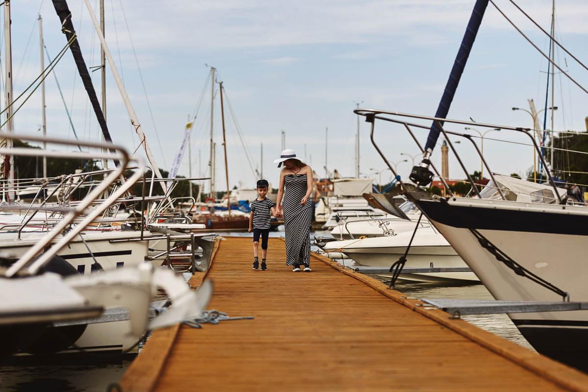 Ciągle marzę aby zostać marynarzem - sesja rodzinna Świnoujście 5