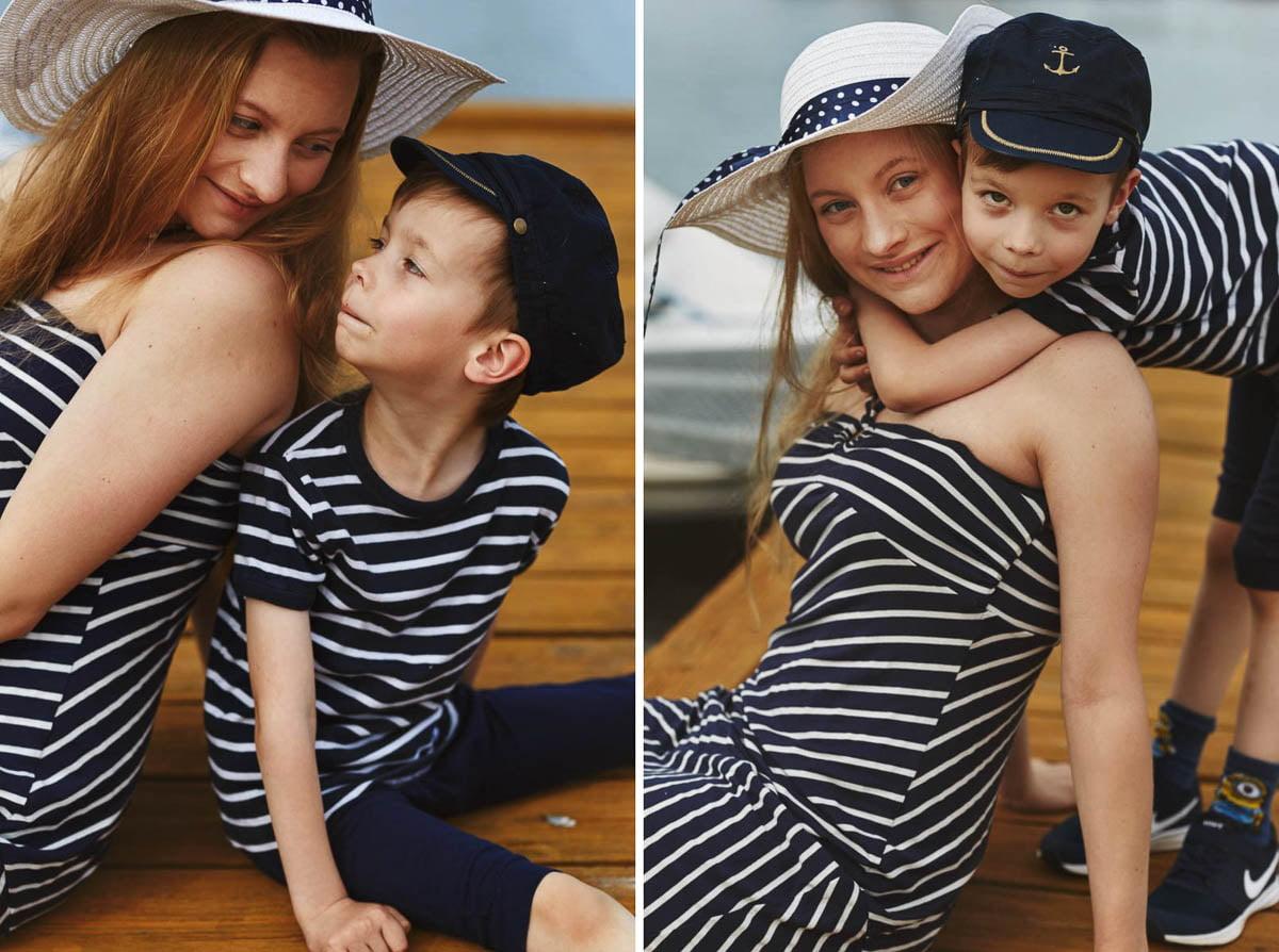 Ciągle marzę aby zostać marynarzem - sesja rodzinna Świnoujście 6