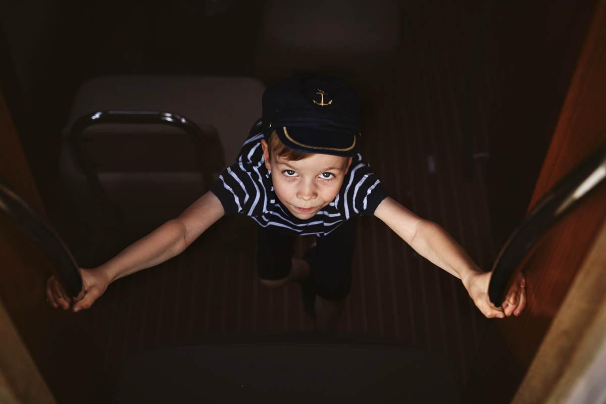 Ciągle marzę aby zostać marynarzem - sesja rodzinna Świnoujście 11