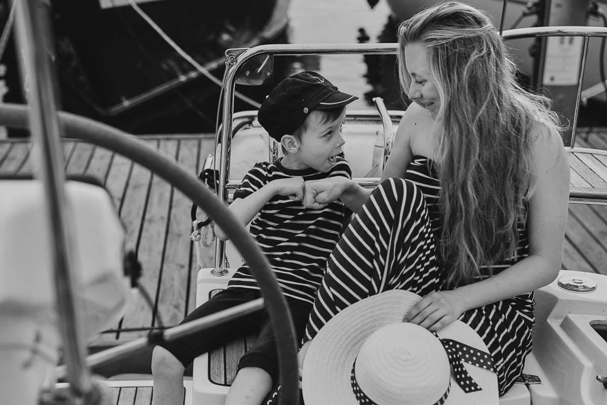 Ciągle marzę aby zostać marynarzem - sesja rodzinna Świnoujście 15