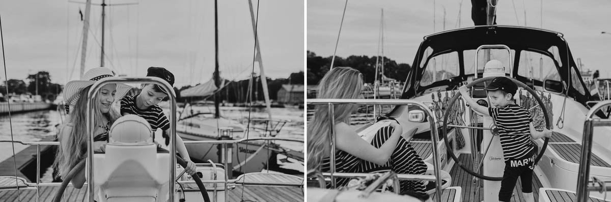 Ciągle marzę aby zostać marynarzem - sesja rodzinna Świnoujście 16