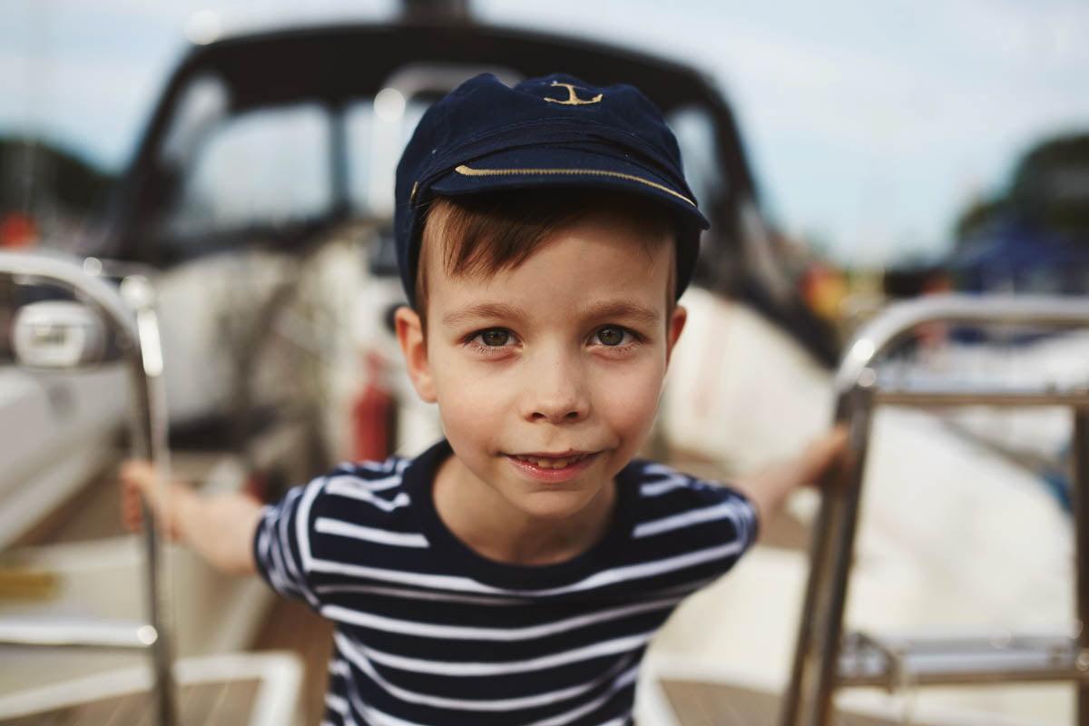 Ciągle marzę aby zostać marynarzem - sesja rodzinna Świnoujście 2