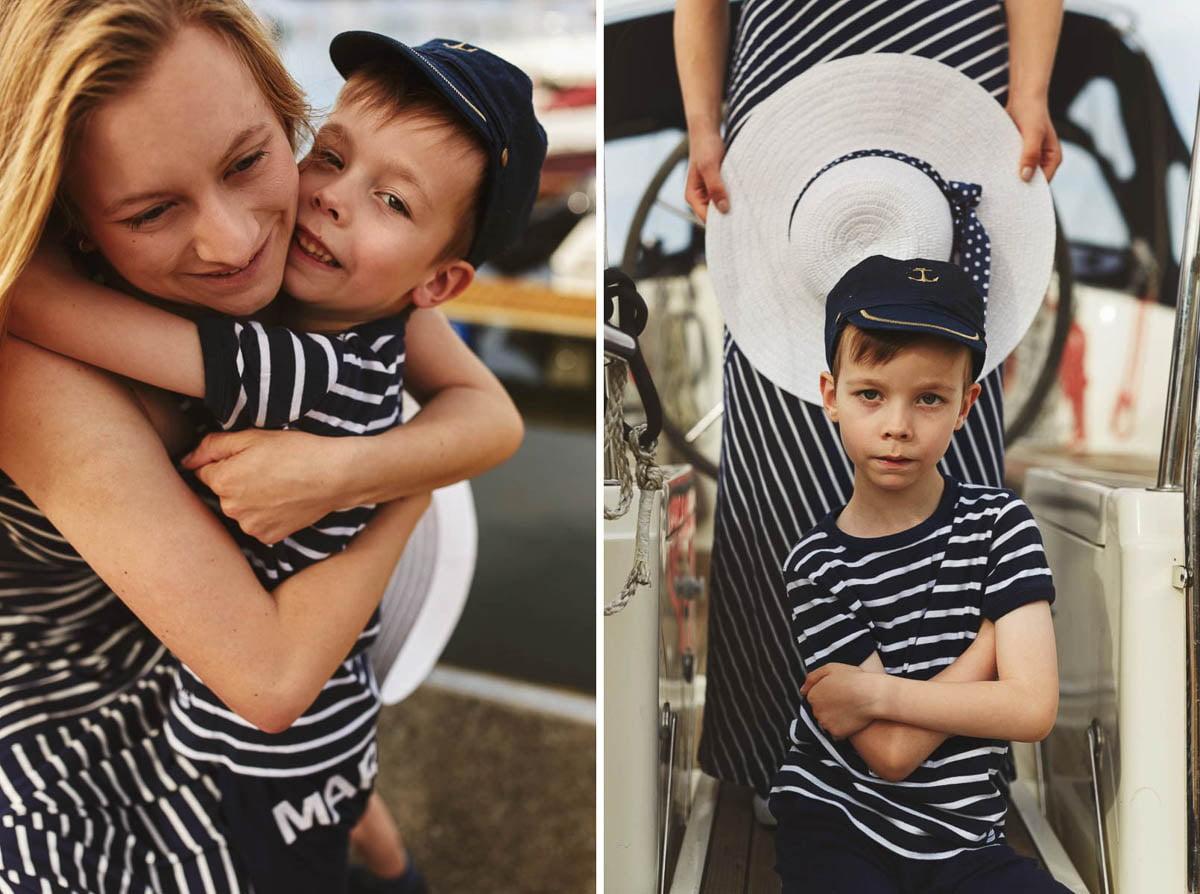 Ciągle marzę aby zostać marynarzem - sesja rodzinna Świnoujście 19