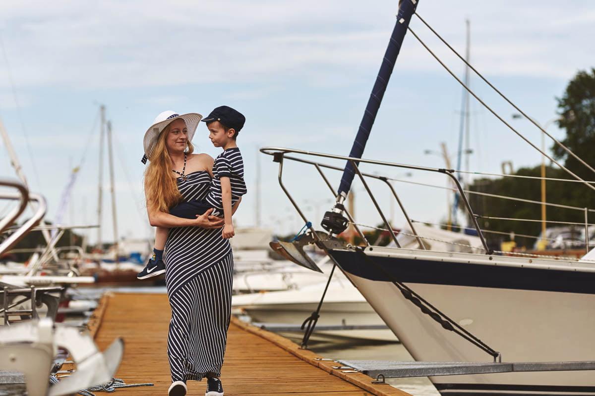 Ciągle marzę aby zostać marynarzem - sesja rodzinna Świnoujście 20
