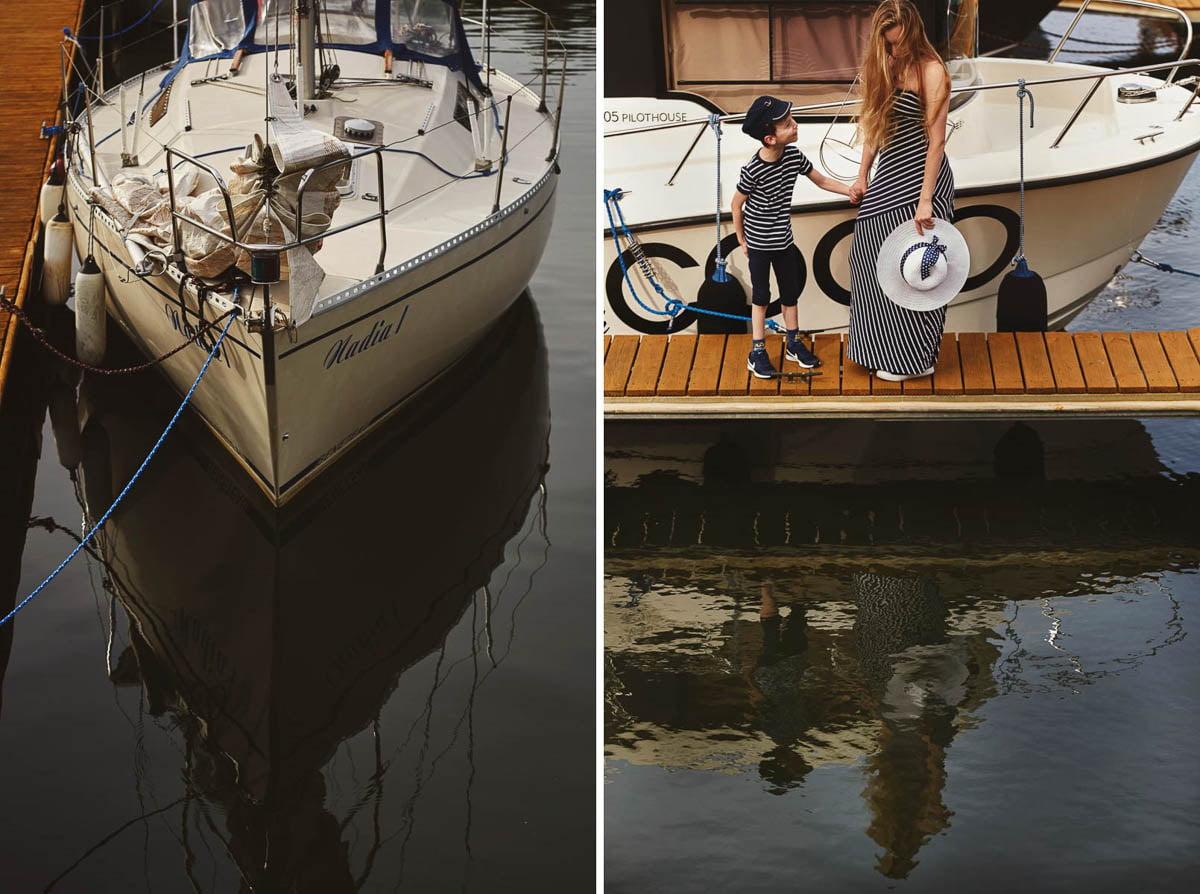 Ciągle marzę aby zostać marynarzem - sesja rodzinna Świnoujście 21