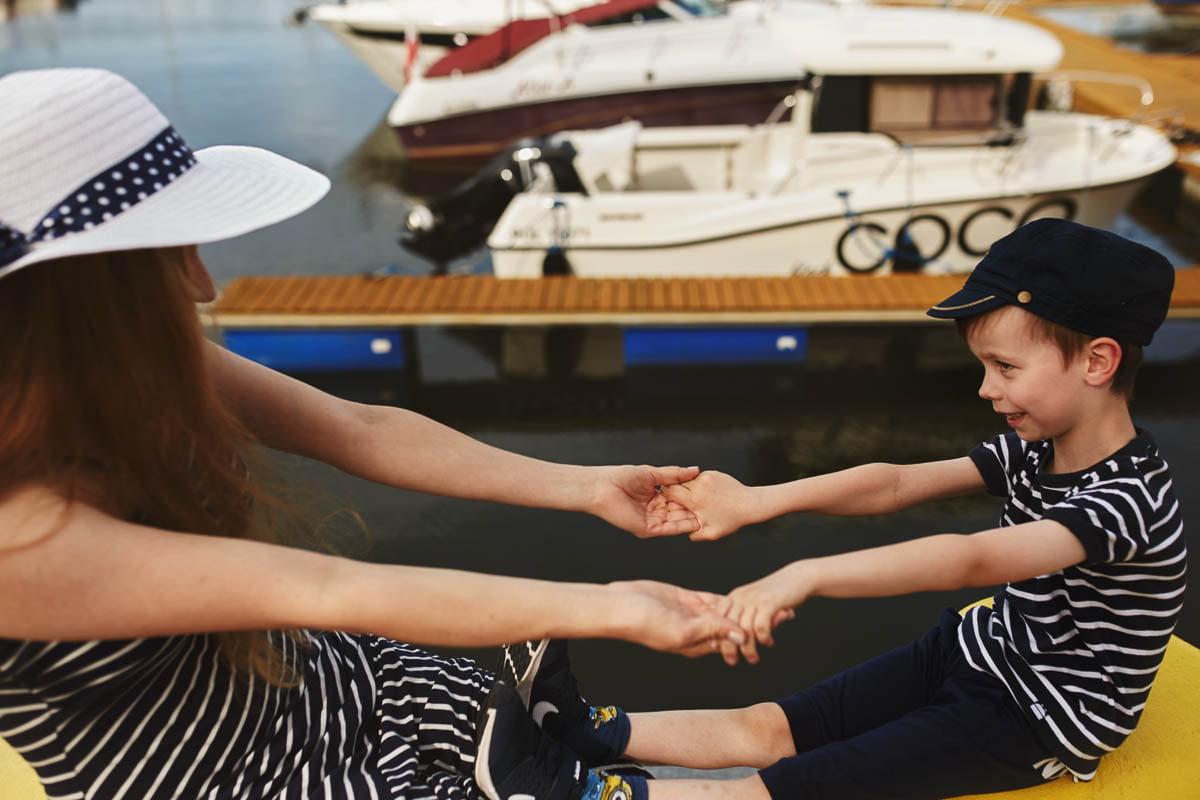 Ciągle marzę aby zostać marynarzem - sesja rodzinna Świnoujście 23