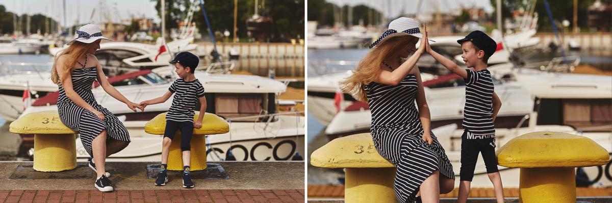 Ciągle marzę aby zostać marynarzem - sesja rodzinna Świnoujście 25