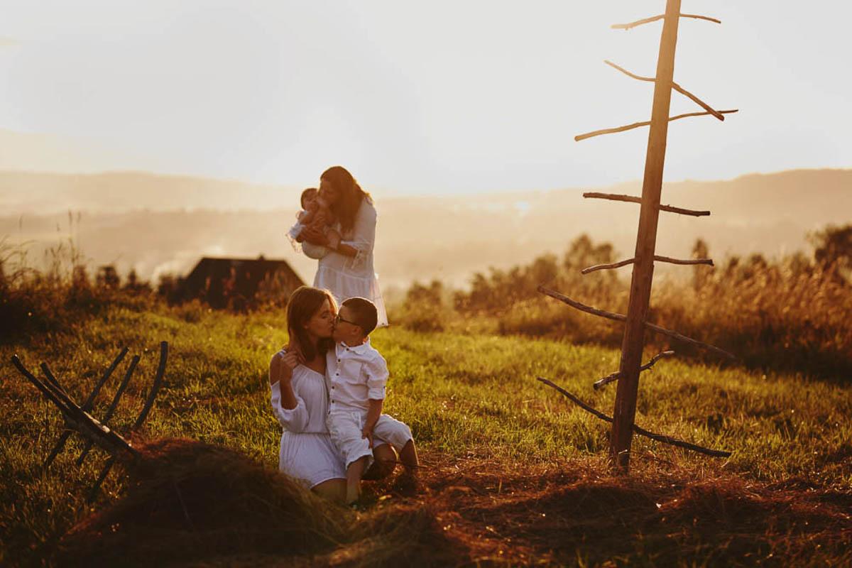sesja rodzinna w górach - rodizna w górach