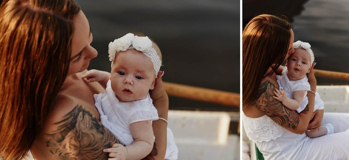 sesja rodzinna Świnoujście - mama z córką