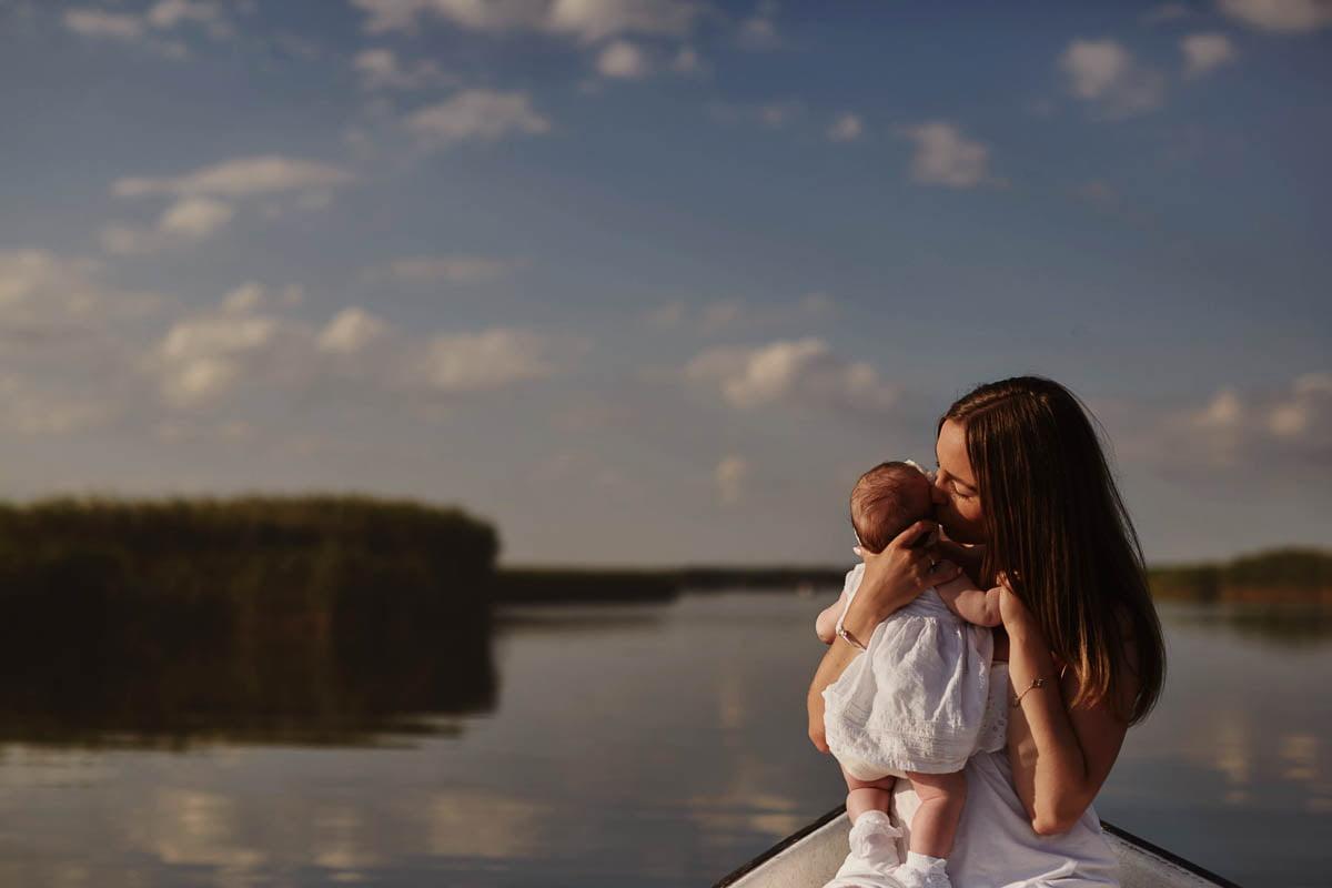sesja rodzinna Świnoujście - mała córeczka