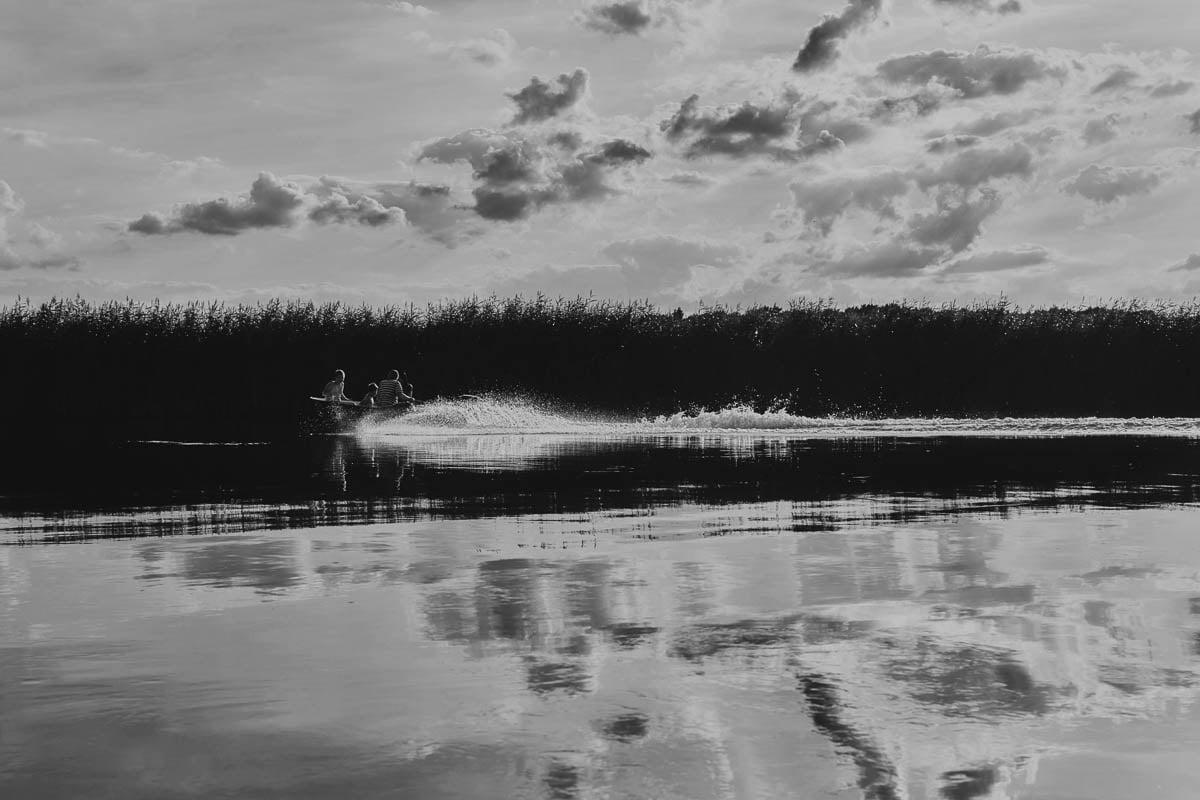 Karsibów - zalew skuter
