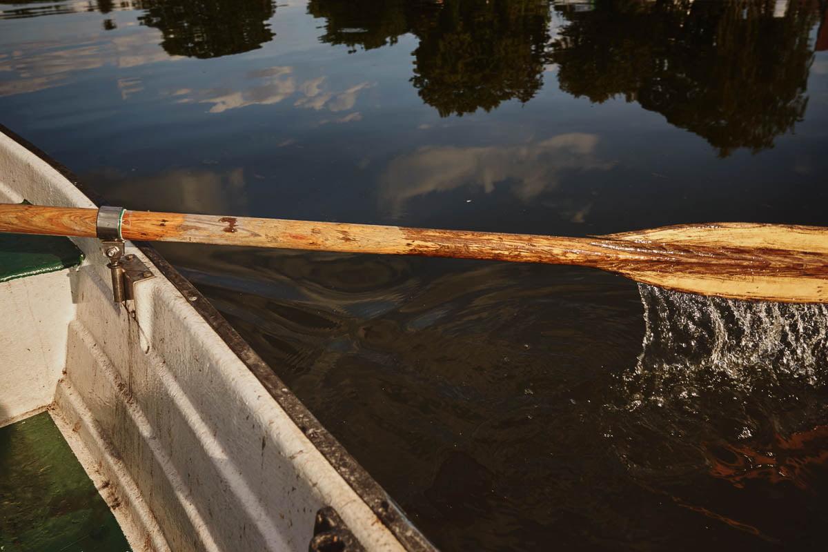 Karsibów - zalew na łódce
