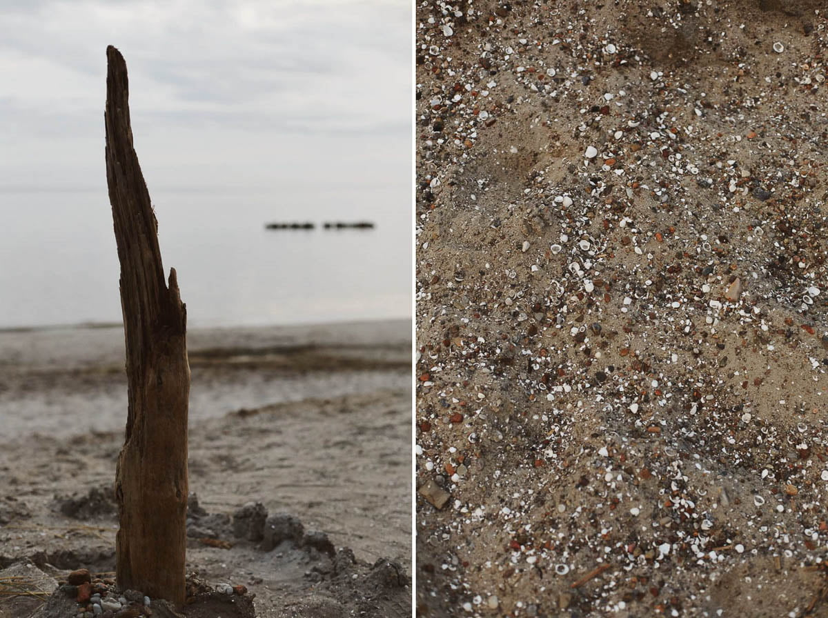 sesja narzeczeńska - piasek i woda