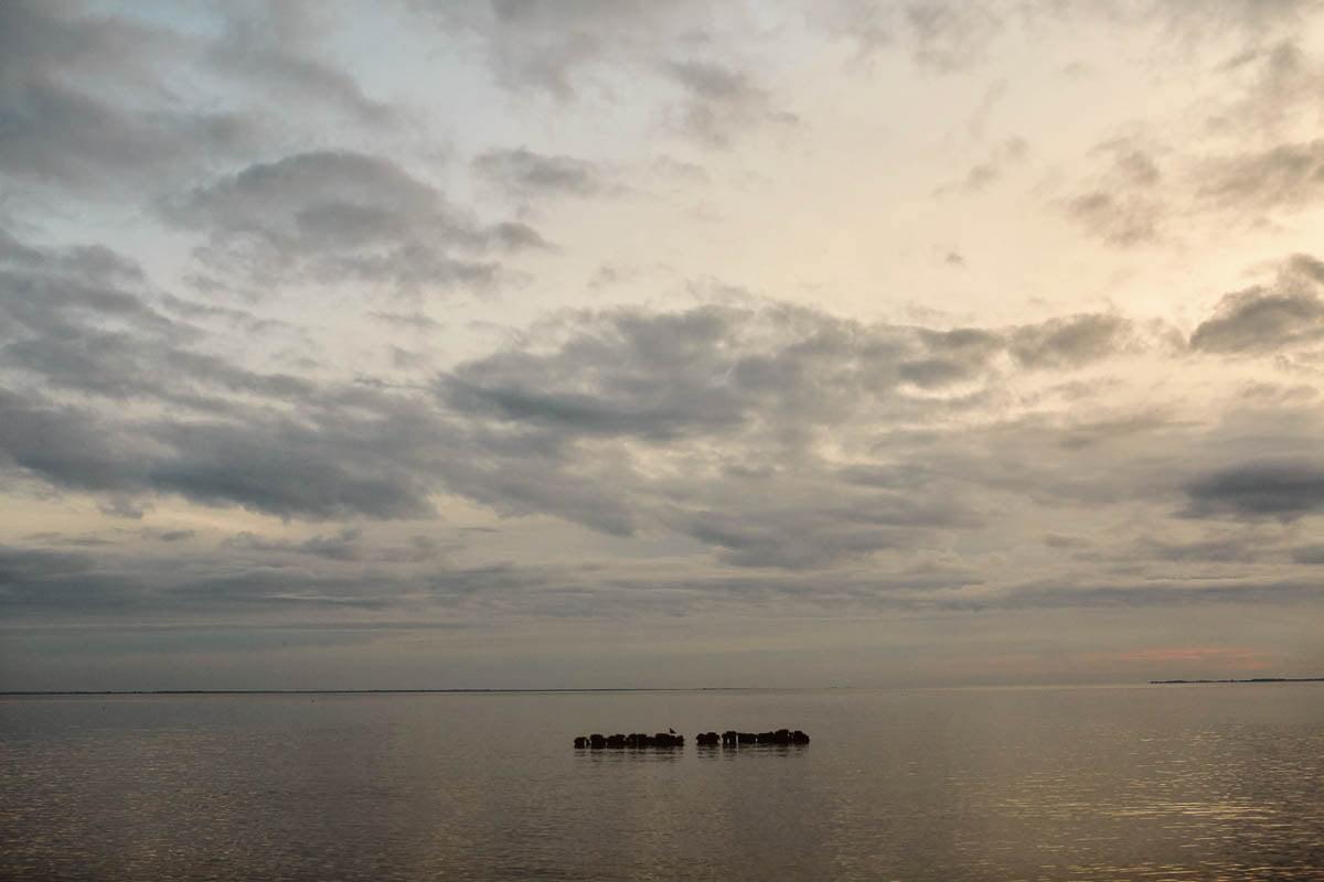 sesja narzeczeńska - zachód słońca
