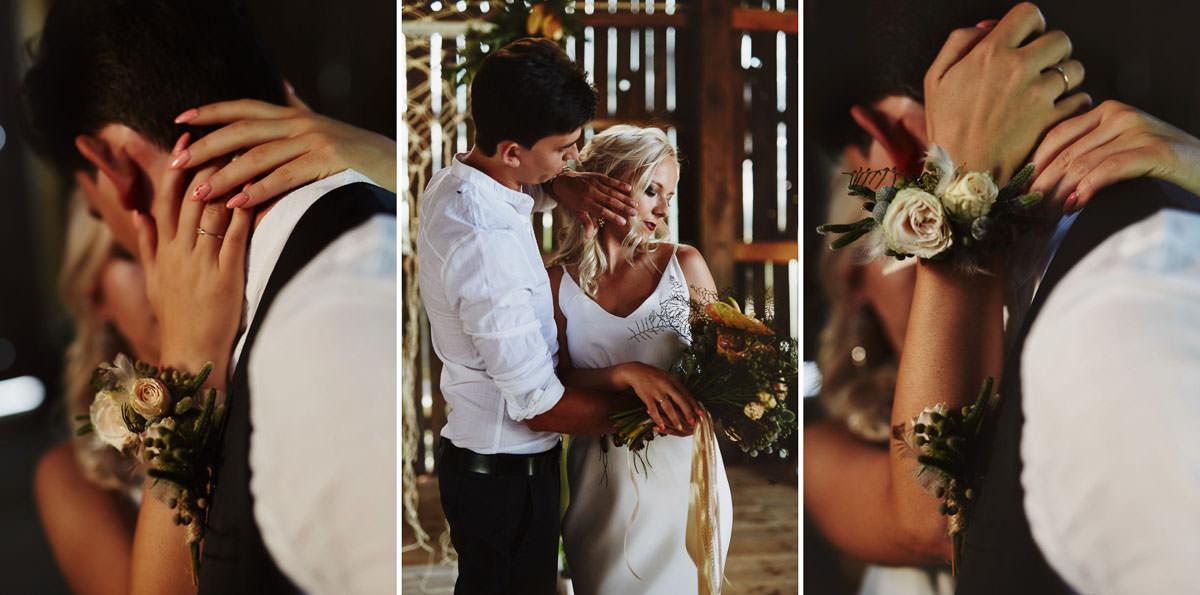 Całe życie człowiek się uczy - Rustykalna sesja ślubna 18