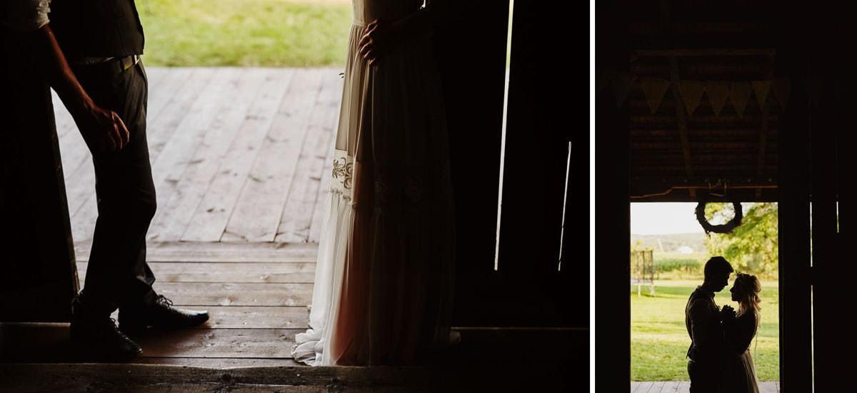 Całe życie człowiek się uczy - Rustykalna sesja ślubna 23