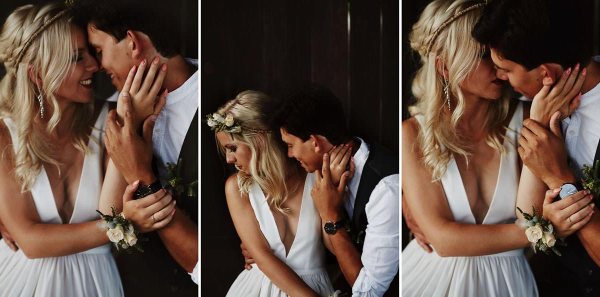 Całe życie człowiek się uczy - Rustykalna sesja ślubna 25