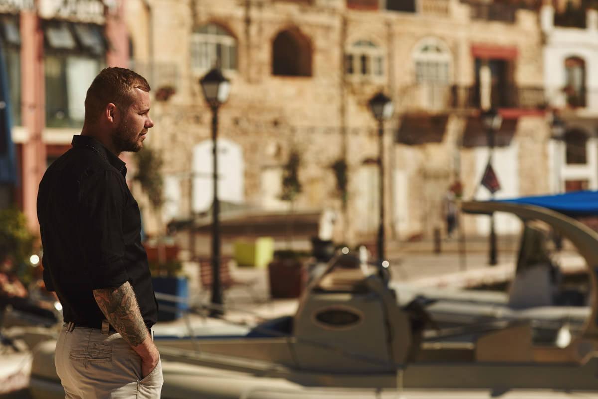 zdjecia ślubne malta - San Julian port