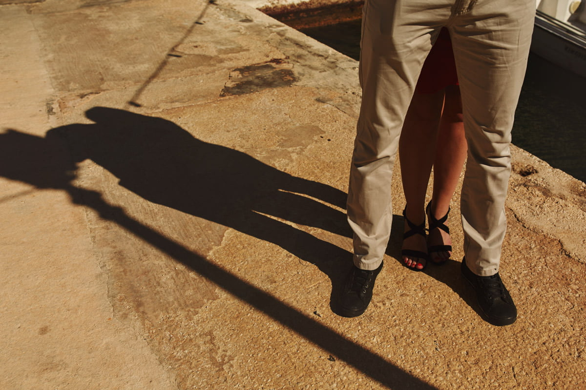 zdjecia ślubne malta - cień