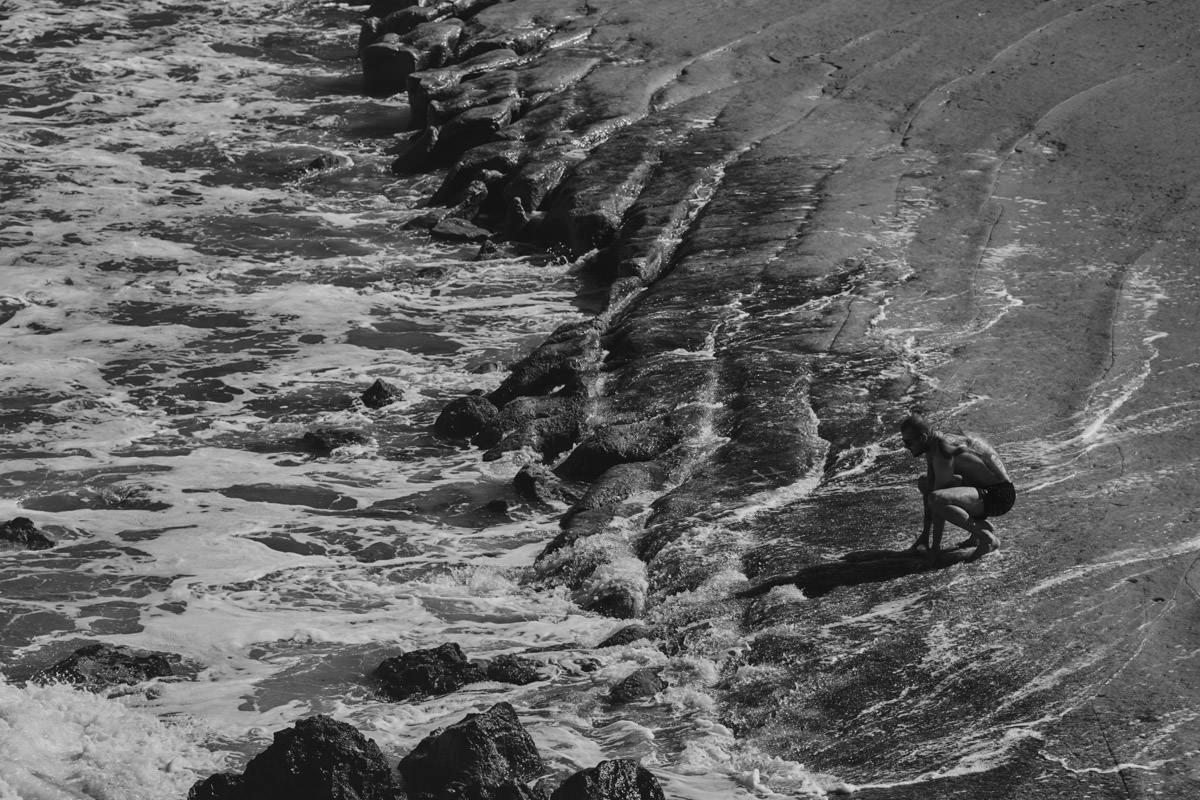 zdjecia ślubne malta - Ramla Bay - plaża z lotu ptaka
