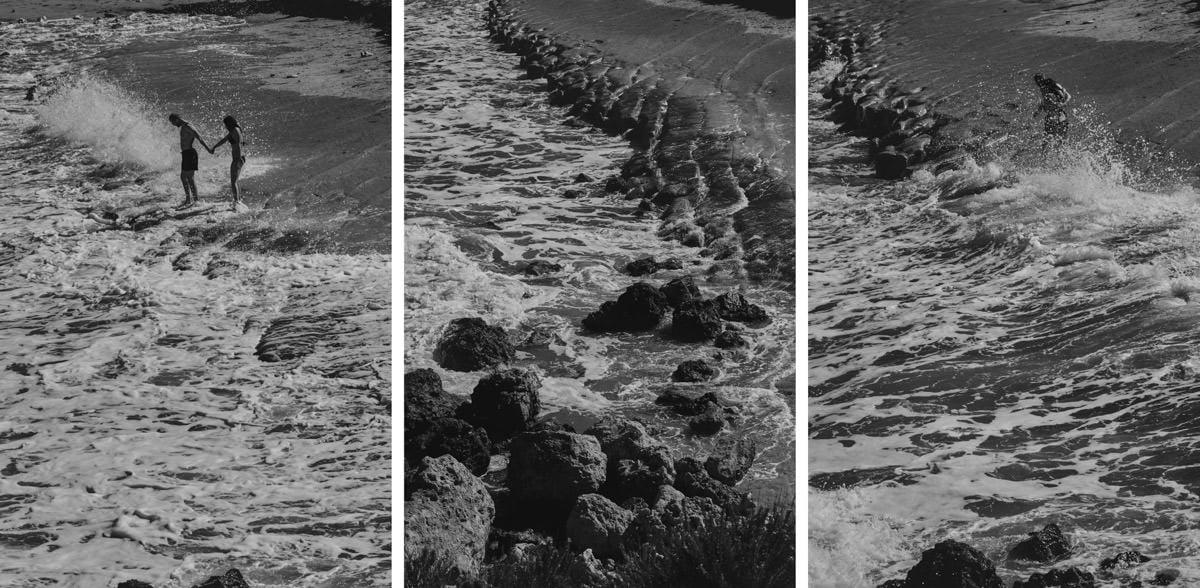 zdjecia ślubne malta - Ramla Bay - plaża